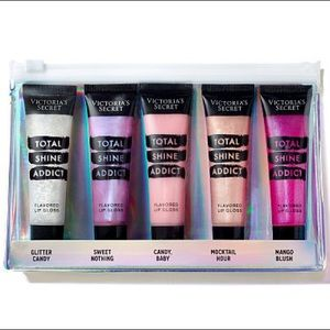 Victoria's Secret Total Shine Addict Lip Gloss Set